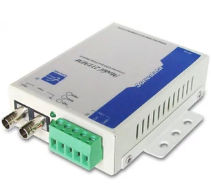 Three Mong Kok authentic MODEL 211SM wall-mounted single-mode fiber optic modem CAN bus to fiber
