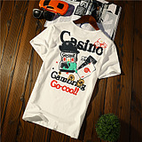 Men's short-sleeved t-shirt creative style printing
