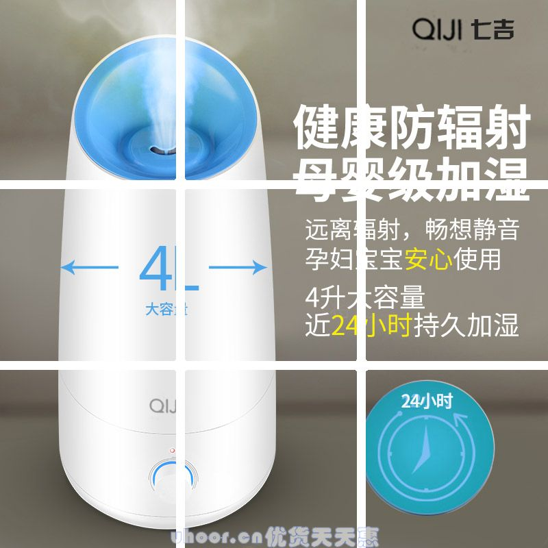 Humidifier, home, large capacity, quiet office, bedroom, air conditioning, air purification, creative Mini Perfume machine