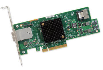 New original color package LSI SAS 9207-4i4e 6Gb interface PCI-E3.0 HBA expansion card