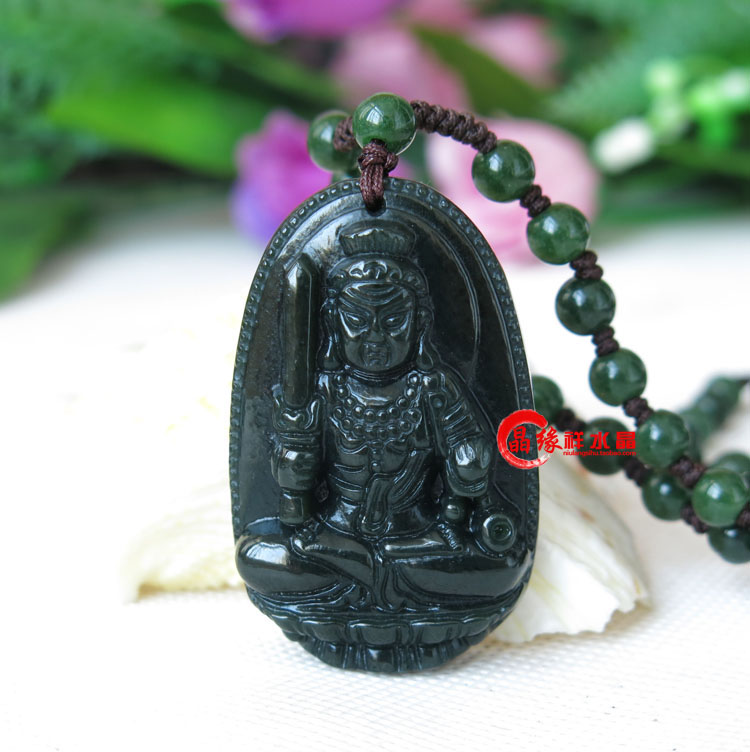 A genuine Rooster jewelry and Tian Yu Moyu guardian does not move Bodhisattva pendant pendant body transfer