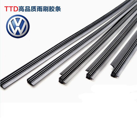 Shanghai Volkswagen soar team magotan car boneless wiper strip New lavida polo wiper rubber strip
