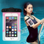 Mobile waterproof bag, diving jacket, touch screen, general swimming, underwater photography, waterproof mobile phone bag, apple 6S, HUAWEI rainproof