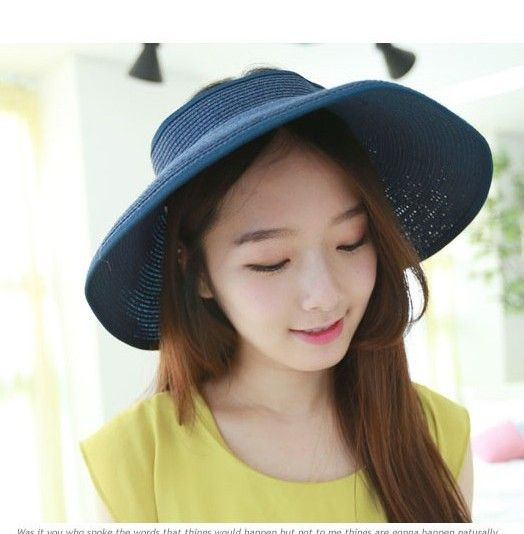 Girl ponytail girl winter hat hat dew dew hair braid hat hat female Korean winter summer series air