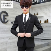 Suit suits, men's culture, Korean fashion, teenagers, three sets of casual suits, men's handsome little suits