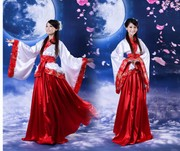 New Chinese clothing Hanfu dress in period costume formal modified photo Tang song ju Han costume costume