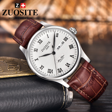 The official flagship store genuine brand soost brand men's business casual belt genuine quartz watch watch case