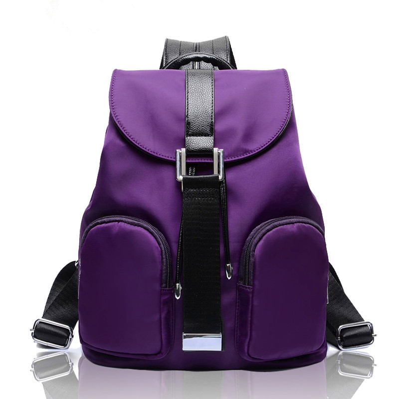 2015 new style ladies shoulder bags fashion Korean female leisure travel backpack waterproof nylon fabric bag