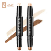 Amy/ the United States double stereo bronzing rod high light Concealer repair Yan shadow V stereo face silhouette Biying silkworm pen