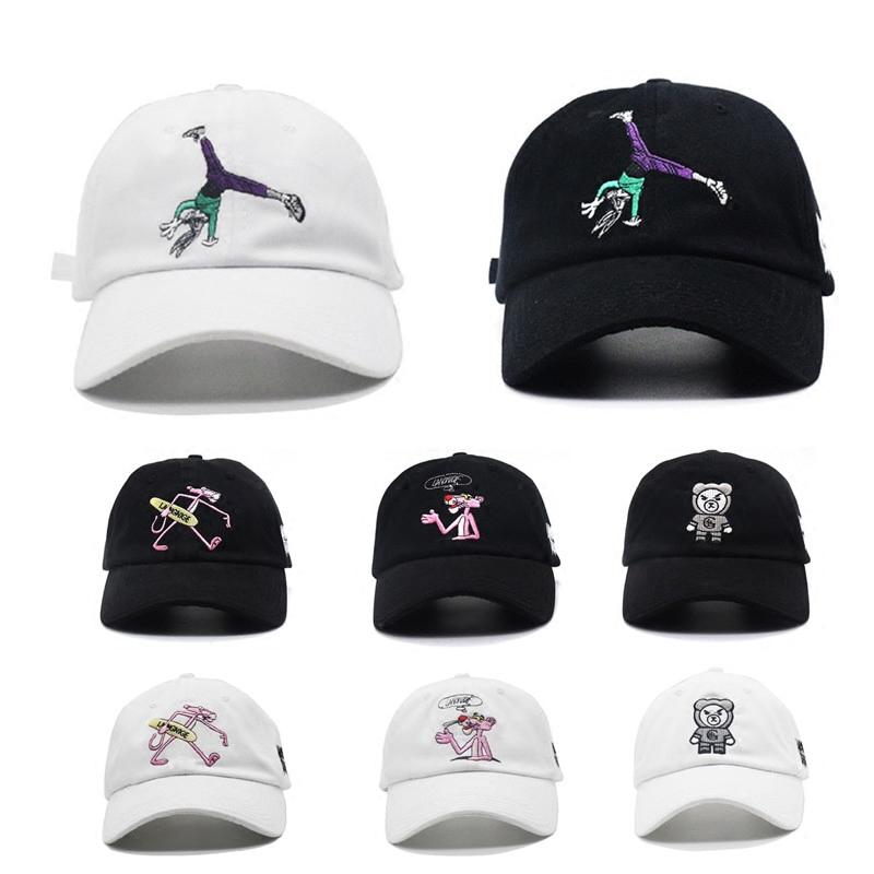 潮牌万磁王pgone兔哥卡通鸭舌嘻哈帽子男女街舞帽gd同款棒球帽