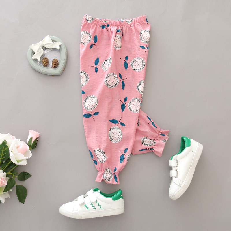 2017 girls pants mosquito summer children PP pants pants pants thin Home Furnishing