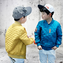 Spring and autumn the Korean version boys jacket spring spring childrens clothing childrens baseball uniform thin baby boy boys tops