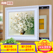 Occlusion meter box distribution box decorative painting mural paintings are the living room push-pull power box switch box switch box