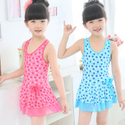 Children's swimwear swimsuit girls Siamese child child baby princess swimsuit in Korean small package mail