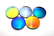 1.56 colorful polarizing sunglasses myopia colorful film sunglasses lens color film lens driver