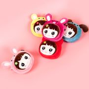 Small child messenger bag children kindergarten cartoon Plush bag children cute cloth decoration bag Girl Korean version