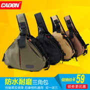 Carton package Nikon SLR camera Canon portable waterproof package triangle diagonal micro single camera bag bag