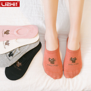 Female female socks socks cotton socks cute Korean winter, shallow low summer invisible socks all-match personality
