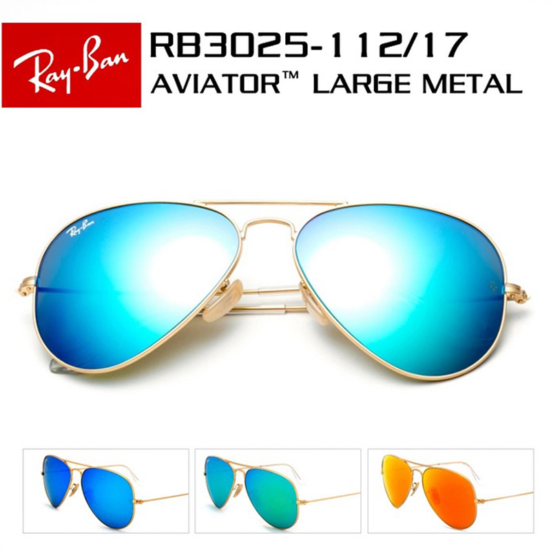 Ray-Ban RB3025 sunglasses RB3026 frog mirror genuine film men and women drive Polarized Sunglasses