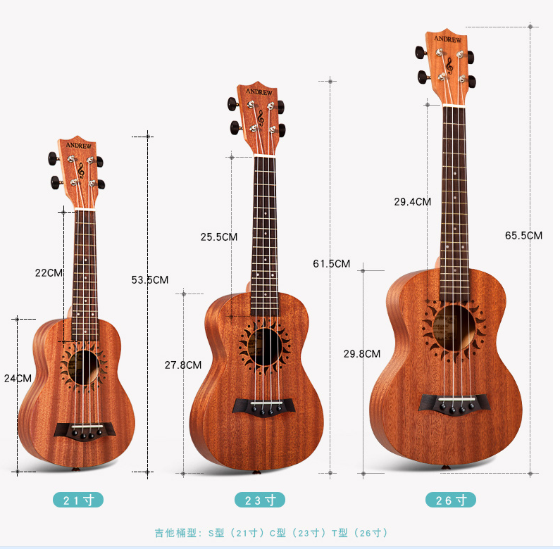 The two generation of bass guitar beginners Wukeli Parlama 23 inch spot in tablature medium tool stand