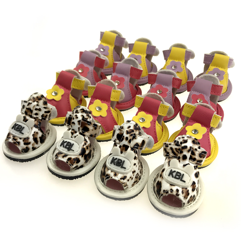 Pet dog shoes sandals shoes cool spring Tactic VIP summer summer dog Bichon antiskid products