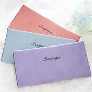 The summer of 2015 the new Korean lady Long Wallet female thin card package soft matte small fresh Student Wallet
