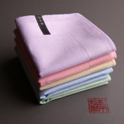 And Mu Ji (emotional) ladies sweat soft cotton handkerchief handkerchief handkerchief plain and elegant
