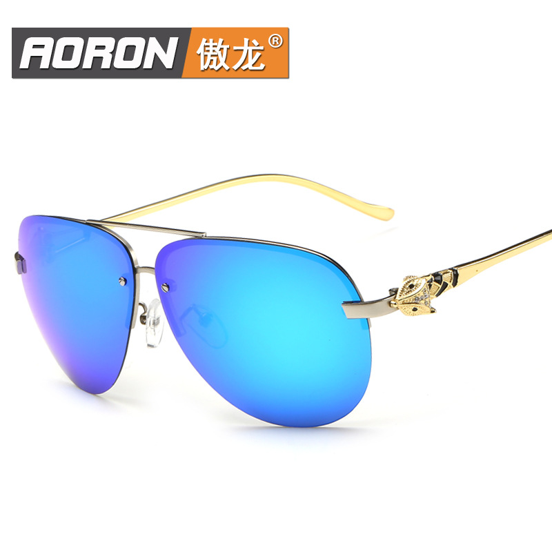 New men's sunglasses sunglasses retro colorful female polarizer trendsetter driver sunglasses sunglasses