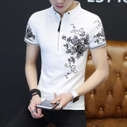 2017 new summer t-shirt men s casual clothes suit Half Sleeve Shirt Mens Fashion