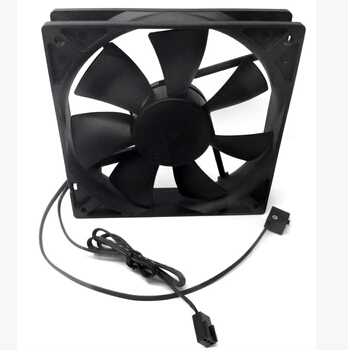 Original Ann titanium grams of 12 cm fan ANTEC 12025 three gear speed quiet fan Send a conversion line