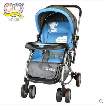 Good baby stroller baby stroller lightweight folding children car lightweight umbrella roll mark sit flat cart