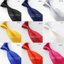 Silver white color golden yellow color 8cm10cm red blue black men's business suits and ties