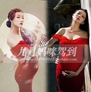 51 pregnant women clothing apparel photo portrait photography Retro Modern ladies freaky pictures studio dress rental