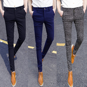 Spring and summer new men's men's casual pants Korean style long stretch pants pants Division