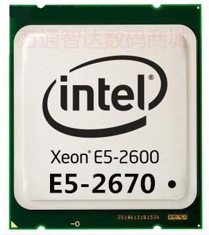 /Xeon-core INTEL Xeon E5-2670 CPU 2.6GHZ released eight-core processor brand new goods