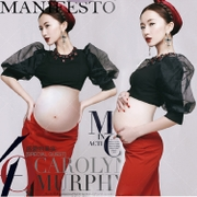 The new studio pregnant women clothing photography photo theme Modern fashion photo dress rental hot mama the pregnant woman