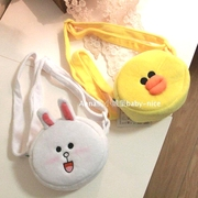 Foreign Trade Children Small package Korean version of Baby cartoon snack decoration bag cute bunny small backpack