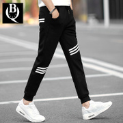 Nine summer trousers thin slim pants feet male guardian pants men's casual pants. Haren flow