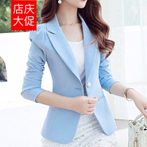 Ladies slim small suit new one-button short women temperament suits autumn slim professional casual Jacket