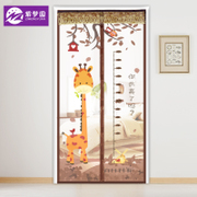 Mosquito curtain curtain partition encryption magnetic Ruansha Velcro household kitchen curtain summer bedroom window