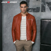 JACK&JONES JackJones short collar young men fall jacket S216321515 PU locomotive