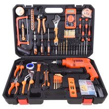 Household electrical repair set manual multi-function hardware kit combined woodworking set household full set