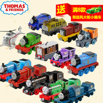 Alloy engines of Fisher price Thomas train Thomas and friends childrens toy car can be connected