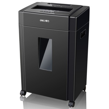 Deli/ 33043 high security effective professional office shredder multifunctional mute shredder