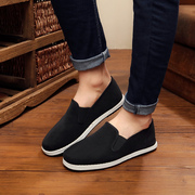 Old Beijing shoes leisure shoes in black men fall dad China cotton shoes breathable driving wind old shoes