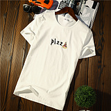 Japanese trend of the influx of young people t-shirt male short-sleeved summer students half-sleeve Slim bottoming shirt Europe and the United States half sleeve