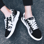 Spring and summer students canvas shoes men sports shoes shoes men's shoes trend of Korean adolescent boys