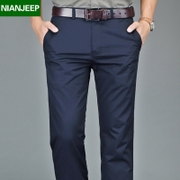 Spring and summer men's trousers NIAN JEEP business casual pants men's trousers straight loose cotton pants male tide
