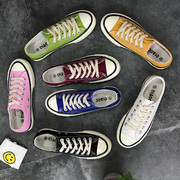 2017 new Harajuku wind ulzzang canvas shoes shoes autumn white shoes shoes in all-match Korean Students