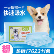 Porky pets 100 pieces of diapers diapers thickened deodorant rabbit urine pad cat diaper bag mail